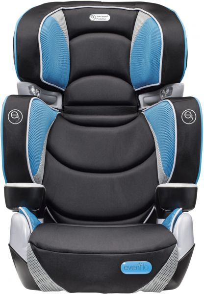 Evenflo Rightfit Booster Car Seat Capri Multi Color