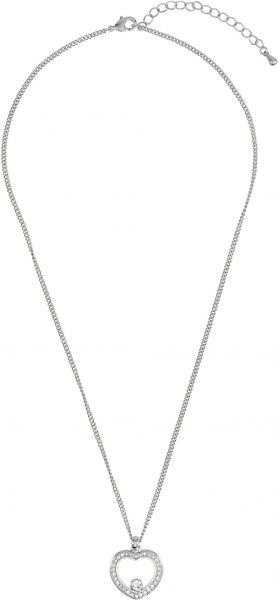 4fdf22176a795 DSE By Swarovski Heart Necklace for Women, Silver, 5286299