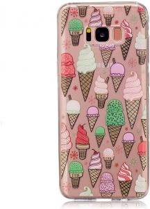 For Samsung Galaxy S8 SM-G950 - Pattern Printing IMD TPU Shell - Ice Cream
