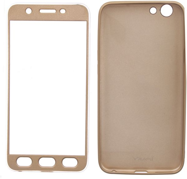 Ipaky Full Cover With Screen Protector For Oppo F1S, G..