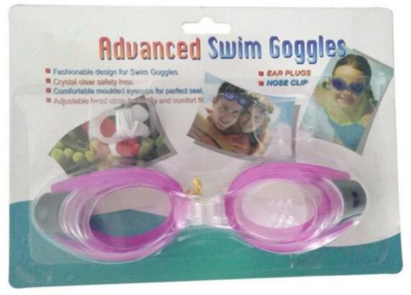 1f520861a1c2 Kid Swim Goggles Anti-fog Lens and Hypoallergenic Silicone Gaskets ...