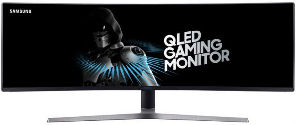 Samsung 49 Inch Qled Gaming Monitor With Super Ultra Wide Screen