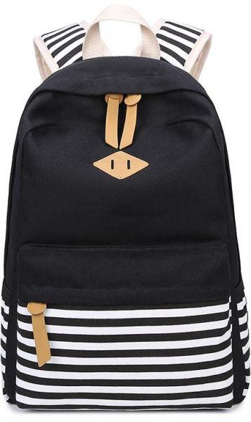 Canvas Backpack Men Fashion Rucksack Boys Satchel Students School ... 37b4003e04c33