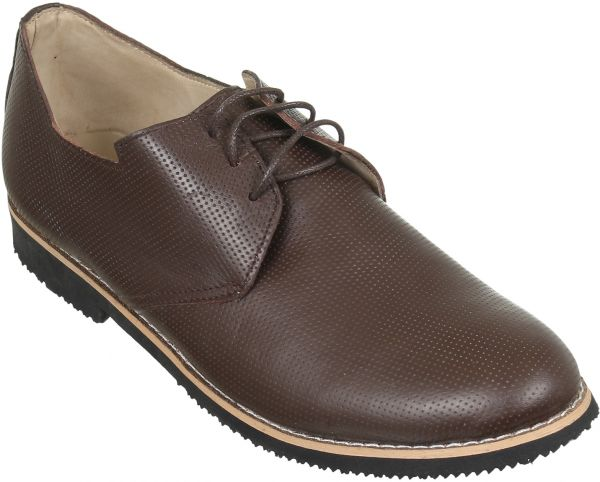 Armany Brown Oxford & Wingtip For Men