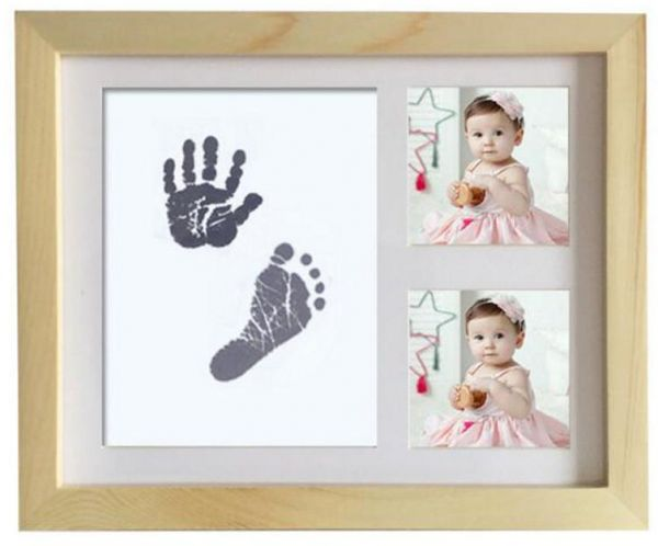 Baby Hand print and Footprint Frame | Souq - UAE