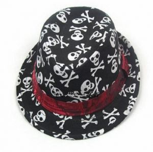 85eb5a237de Argento Dubai Fashion Kids Skull Printing Jazz Hat With Band Curling Brim  Panama Cap Beach Fedora Hats Sun Protection For Boys And Girls For Kids