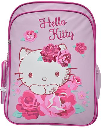 72724c6e2a08 Hello Kitty 113515 School Backpack For Girls - Polyester