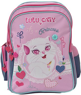 59ff09dc4c Lolo Caty 113583 School Backpack For Girls - Polyester .