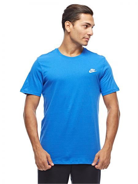18cfc058 Nike T-Shirt for Men - Blue Price in UAE | Souq | Shirts & Tops ...