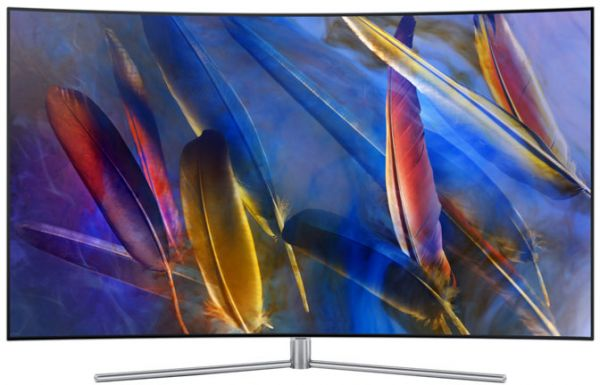 3f79c7791 Samsung 55 Inch 4K Ultra HD QLED Smart Curved TV - 55Q7C