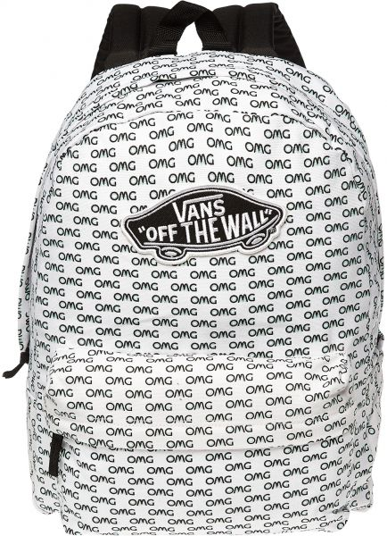 e844d72f84a Vans Realm Backpack for Women, White Price in UAE | Souq | Bags ...