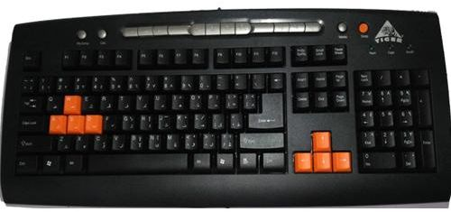 Tiger PS/2 Keyboard For PC - KB521