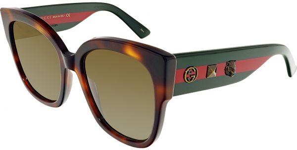 255a2ae45ab Gucci Cat Eye Unisex Sunglasses - 55-19-140 mm Price in UAE