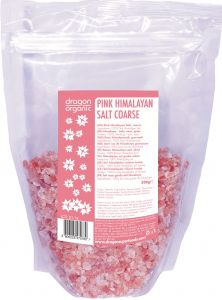 Dragon Super Food Organic Pink Himalayan Coarse Salt, 500g