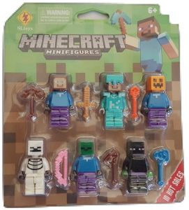 Action Martial Arts Action Pack Play Arts KaiWweSquare Enix - Lego minecraft hauser