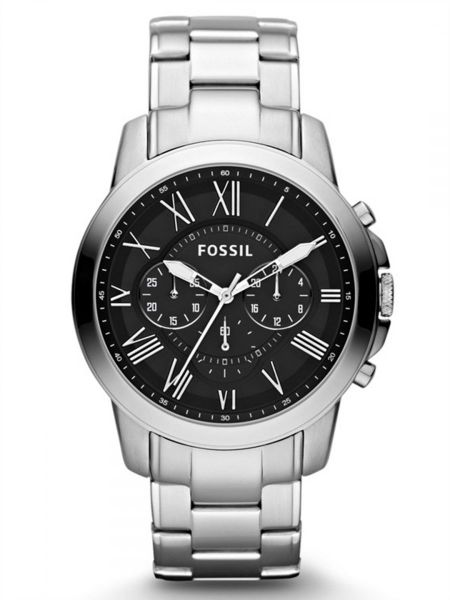 3845a30ce26 Fossil Grant Watch for Men - Analog Stainless Steel Band - FS4736 ...