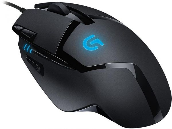 Logitech G402 Hyperion Fury FPS Wired Mouse - Black