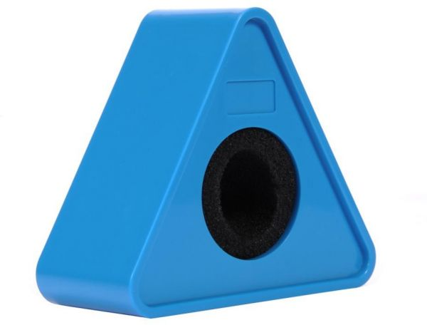 COOPIC Portable Blue ABS Injection Molding Triangular