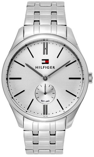 add056c3a Tommy Hilfiger Men's Silver Dial Stainless Steel Band Watch - 1791172.  649.00. ريال سعودي