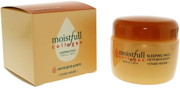 Etude House Moistfull Collagen Sleeping Pack Night Cream, 100 ml