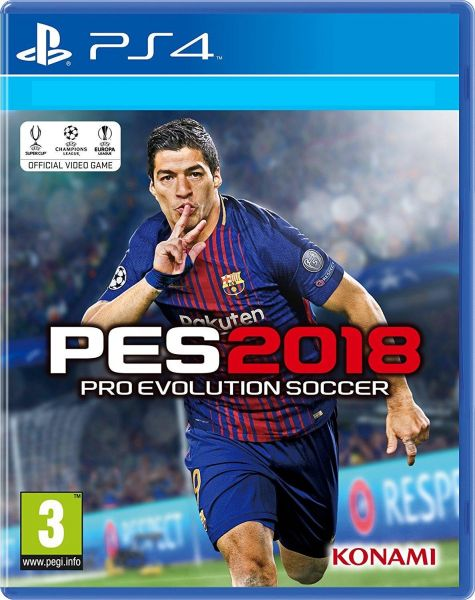ceae4693e9e0 PES 2018 PRO EVOLUTION SOCCER WITH ARABIC PlayStation 4 by Konami ...
