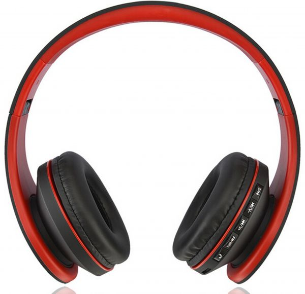 X Cell BHS-500 Stereo Bluetooth Headset, Red