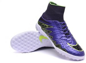 Nike 747484505 Hyper V Proffessional Football Shoes For Men, Purple