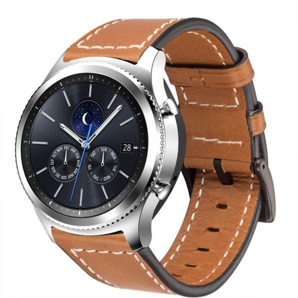 09e6bd39968 Samsung Galaxy Gear S3 Classic   Frontier Genuine Leather Smartwatch Band