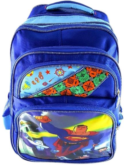 72fc39856d33 Gifts and More Superman 18 inch Backpack For Girls - Blue