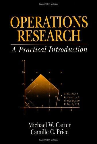 Operations Research: A Practical Introduction (Operations Research Series)
