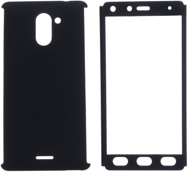 another chance d53c8 3d204 360 Case Full Cover For Infinix Hot 4, Black Price in Egypt | Souq ...