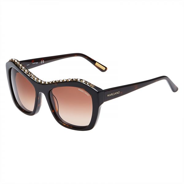 705cb1ec4fc Guess by Marciano Square Women s Sunglasses - GM0749-52F-56 - 56 -19 -135 mm
