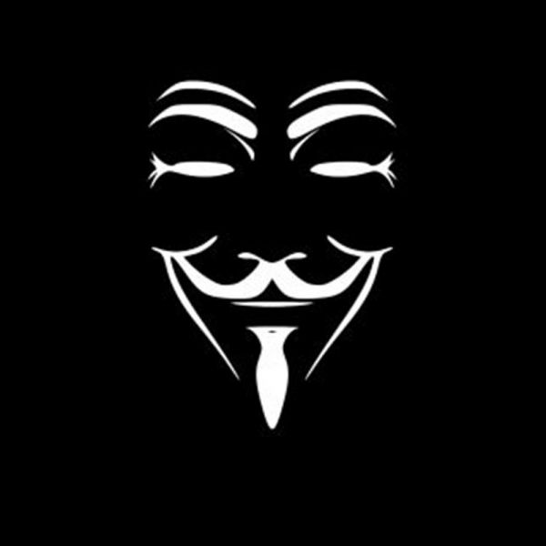 Hotmeini anonymous mask vinyl car stickers jdm decal car body window bumper guy fawkes graphic decoration sliver