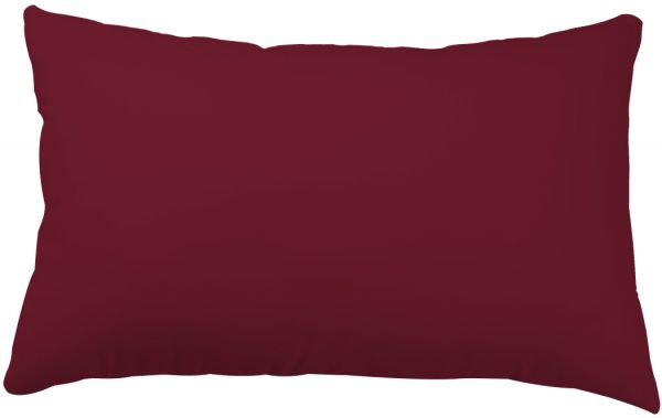 Home Station Soft Plain Pillow Red Size 50 75 cm review and