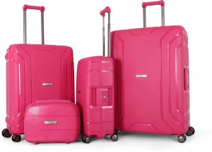 Titan Luggage set of 4 Pieces , Pink , 9756617