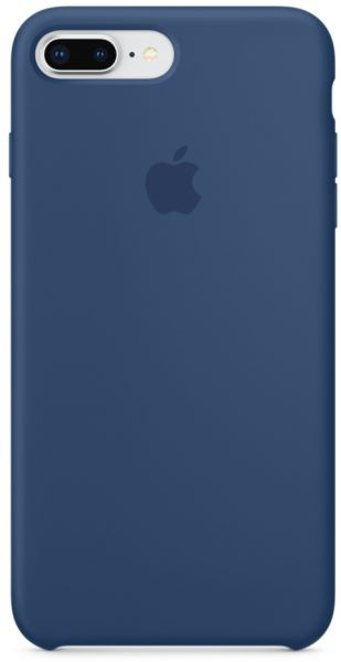 Apple iPhone 8 Plus   7 Plus Silicone Case - Blue Cobalt 1c192b026a8d