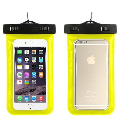 newest fb006 df31e DOWIN Waterproof Transparent PVC Phone Case Cover for IOS and Android up to  6.0