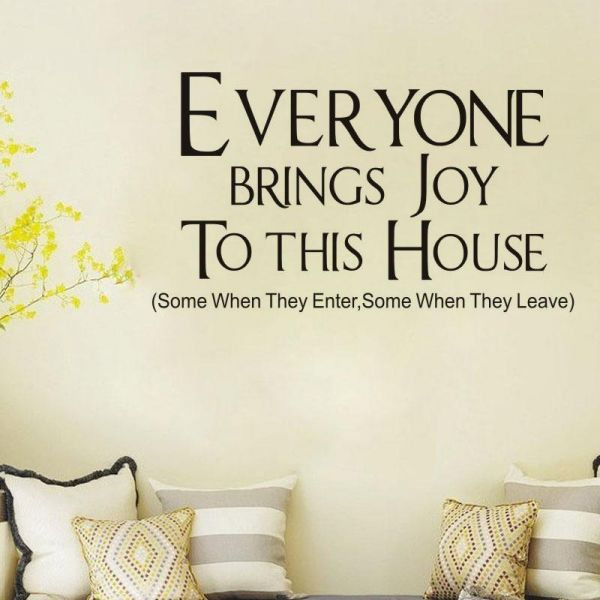 Quotes For Living Room Wall Decals For Living Room Home Decor Waterproof Wall Stickers