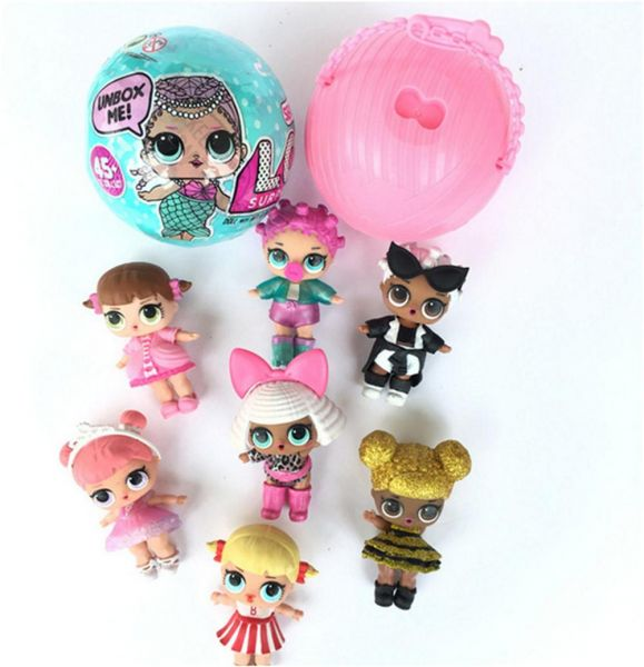 Lol Surprise Dolls Charm Fizz Ball Dress Up Toys Collectible