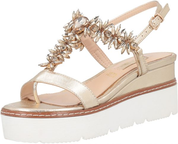 1165ced77b2 Primadonna Collection Gold Flat Sandal For Women Price in UAE