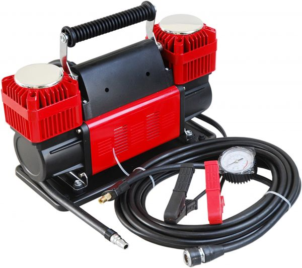 Ultra Extreme 4x4 Tire Super Air Flow Portable Car Air Compressor 300 Litter   Mints 150 Psi With