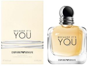 f0dc7b87fd311 Because It s You by Emporio Armani for Women - Eau de Parfum, 100ml