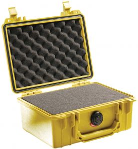 Pelican 1150 Camera Case With Foam, Yellow - 1150-000-240 (Specialty Bags & Carry Cases)