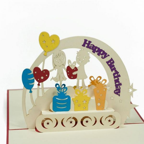 Buy 3D Pop Up Birthday Card With The Special Wishes In UAE