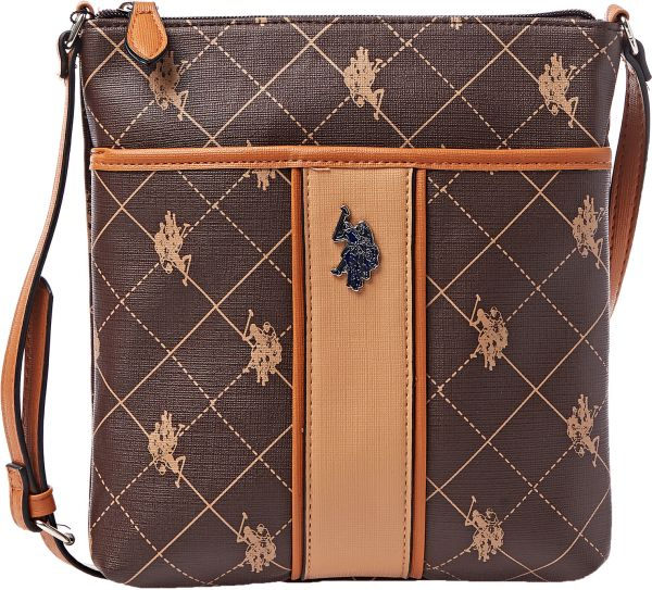 70b36d861e28 Buy U.S. Polo Assn. Crossbody Bag for Women - Brown in UAE