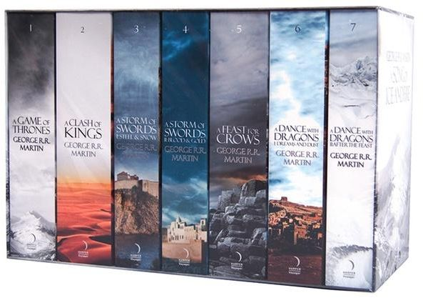 Complete set game of thrones book