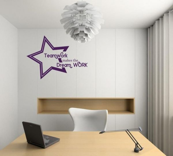 Office Wall Decals, Home Decor, Waterproof Wall Stickers | Home ...