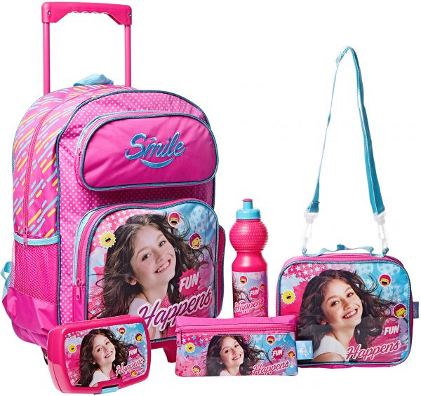 a53d5d4790b Soy Luna School Trolley Bag for Kids