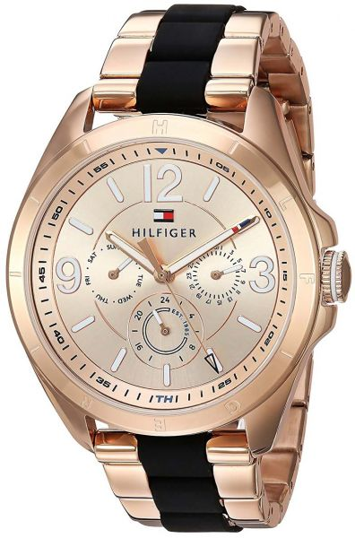 047dc7b80c35 Tommy Hilfiger Darcy Women s Rose Gold Dial Stainless Steel Band Watch -  1781770. by Tommy Hilfiger