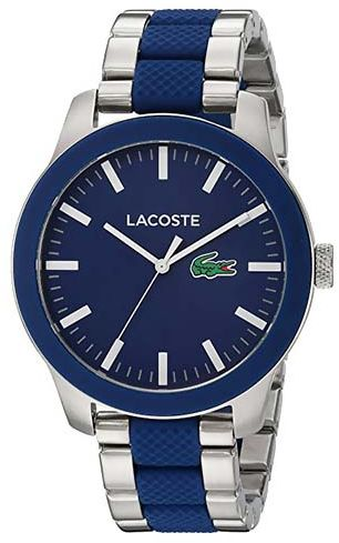 Lacoste Casual Watch For Men Analog Stainless Steel - 2010891  f466ec2274